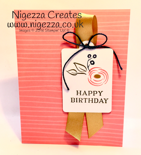 Stampin' Up!® Perennial Birthday Project Kit Nigezza Creates