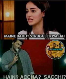 ananya-pandey-zakir-khan-meme
