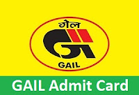 GAIL Admit Card