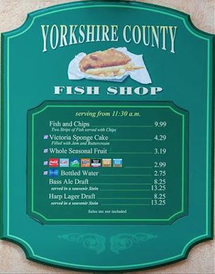 Yorkshire County Fish Shop at Walt Disney World Resort