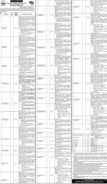planning-development-board-punjab-jobs-2021-apply-online