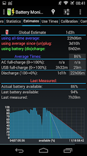 3C Battery Monitor Widget Pro - 6