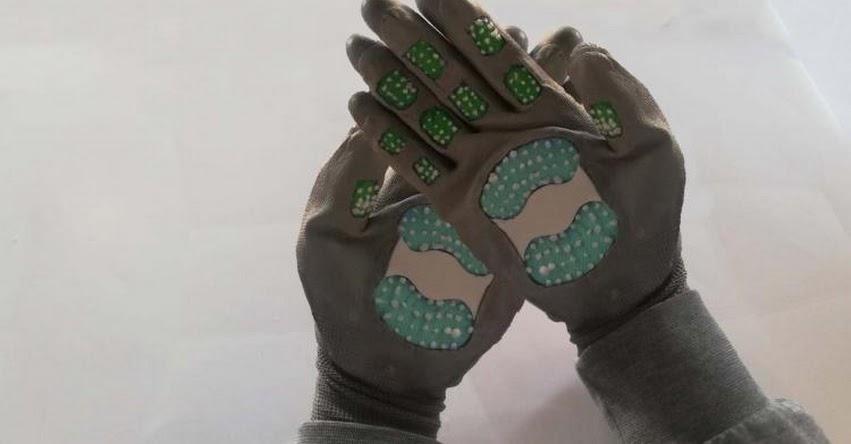 Estudiante diseña guante autoesterilizable para prevenir contagio del Coronavirus