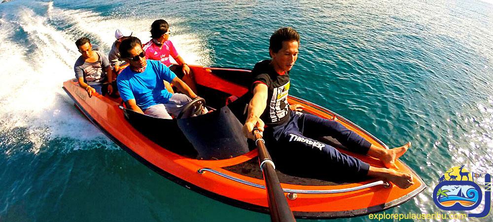 sewa dan rental kapal speed boat dari dermaga marina ancol