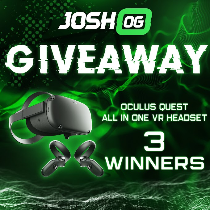 Sorteio Oculus Quest All In One VR Headset!