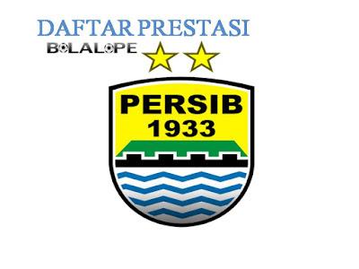 Daftar Prestasi Persib Bandung Sejak 1937