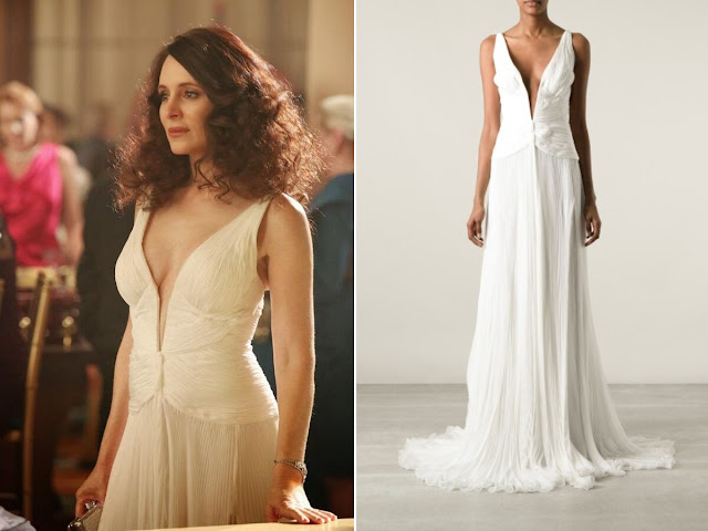 Madeleine Stowe in Roberto Cavalli - Seen on 'Revenge'