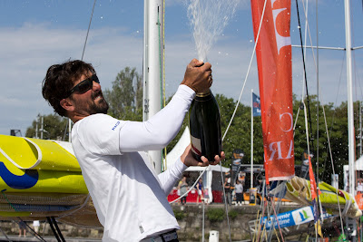 Yoann Richomme remporte La Solitaire Bompard 2016 !