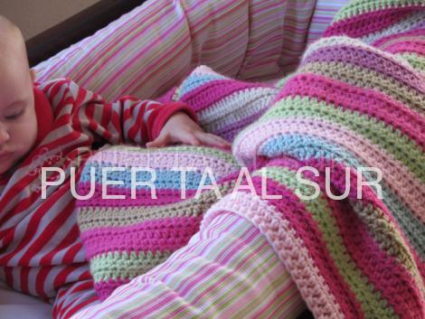 manta infantil moises - Mantas tejidas para abrigarte y decorar