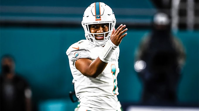 Miami Dolphins' guard takes show as Tua Tagovailoa wins debut against Los Angeles Rams