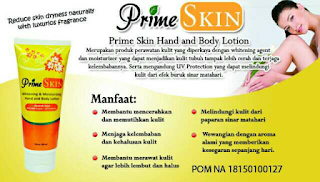 Primeskin hand & body lotion