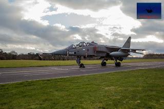 SEPECAT Jaguar RAF bomber ground attach Qinetiq