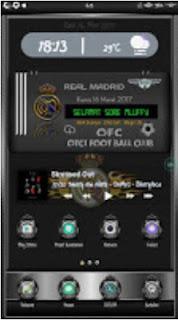 Tema Real Madrid V2.0 untuk Oppo