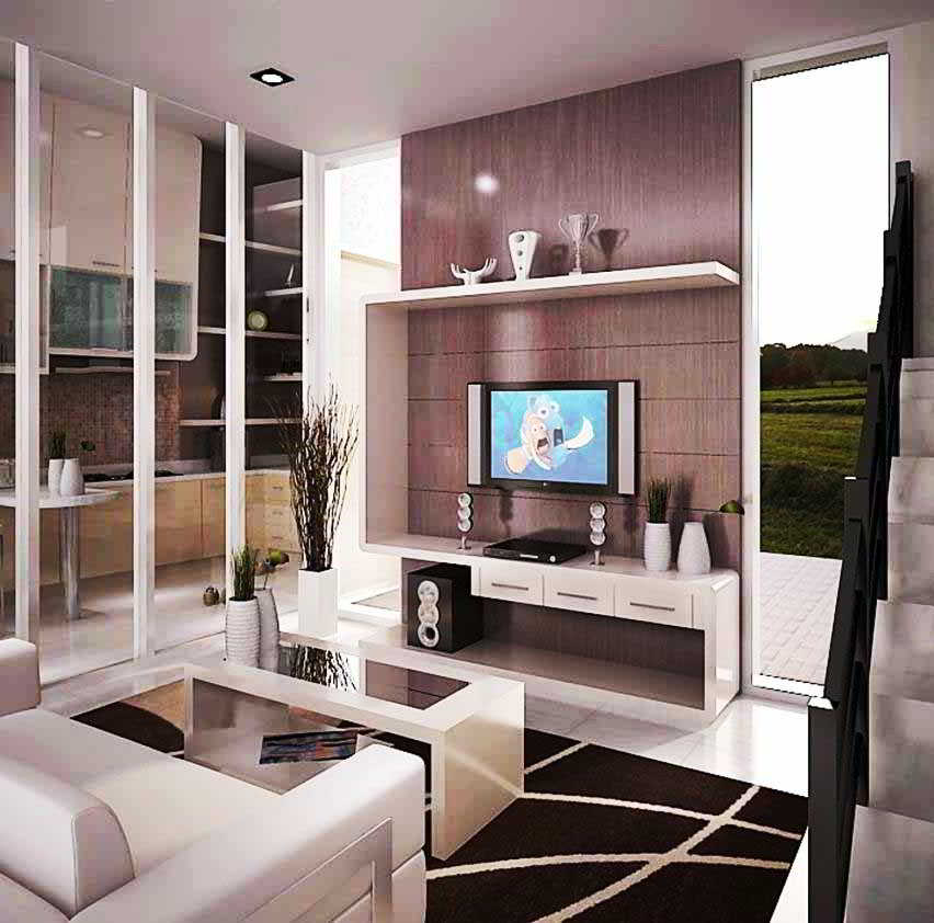 Desain Ruang Tamu Kecil Tapi Elegan