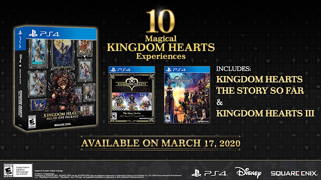 KINGDOM HEARTS ALL-IN-ONE PACKAGE NOW AVAILABLE FOR PLAYSTATION4 SYSTEM