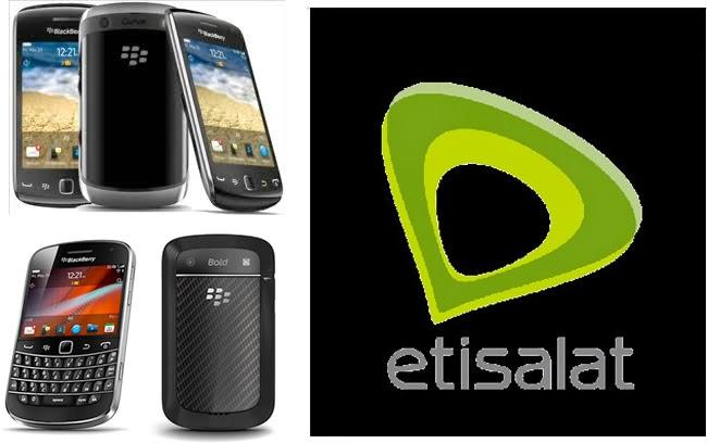 etisalat blackberry subscribtion code