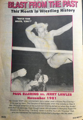 Inside Wrestling  - November 1998 -  Paul Ellering vs. Jerry Lawler