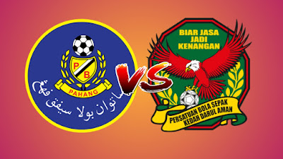 Live Streaming Pahang vs Kedah Piala Malaysia 26.10.2019