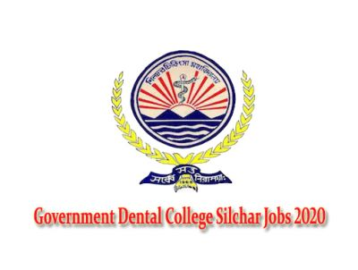 "Government Dental College Silchar given current employment news for the recruitment of official website www.dme.assam.gov.in notification of the posts ""Junior Administrative Assistant cum Computer Operator, Library Assistant, Computer Programme & others various"" in recent the latest vacancies 2020."