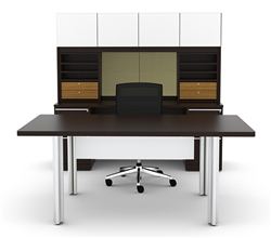 Cherryman Verde Desk On Sale at OfficeAnything.com
