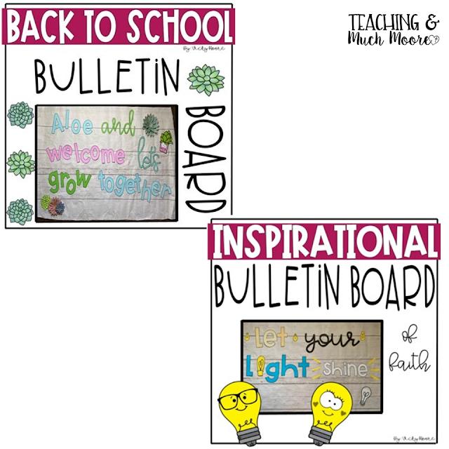 cute back to school bulletin boards