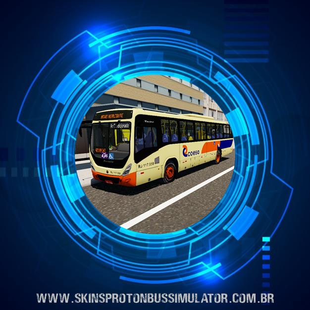 Skin Proton Bus Simulator - Torino 14 MB AC OF-1721 BT5 Coesa