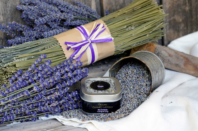 Organic Culinary Lavender for cooking