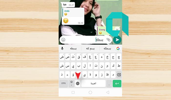 Cara Menulis Arab Di WA HP OPPO Dan Xiaomi Tanpa Aplikasi Tambahan