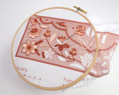 2021 Calendar Kit for Embroidery by SeptemberHouse