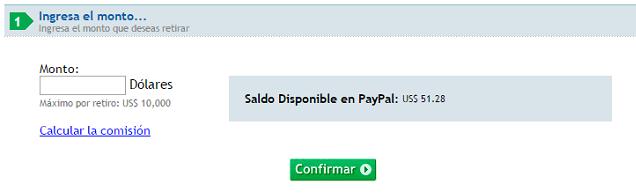 Retira tu dinero por Interbank, Paypal es un procesador de pago muy conocido