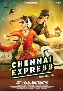 chennai express movie blooper