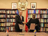 Indonesia baru saja membuka hubungan diplomatik dengan Barbados!
