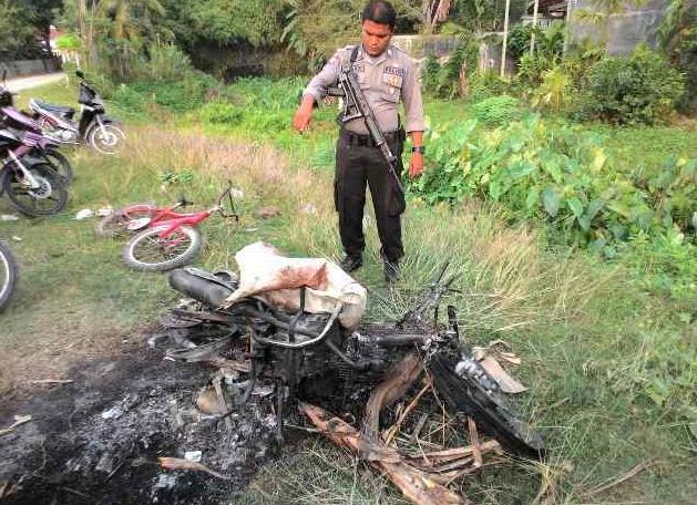 Maling Kambing di Aceh Utara Babak Belur Dihajar Massa