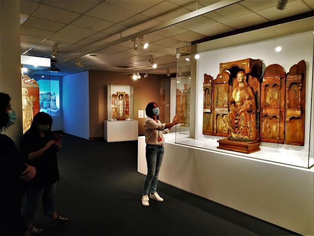 Marededéu amb Nen de Muli (Islàndia). Museu Episcopal de Vic