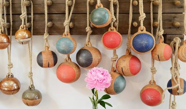 Ceramic bells Mquan