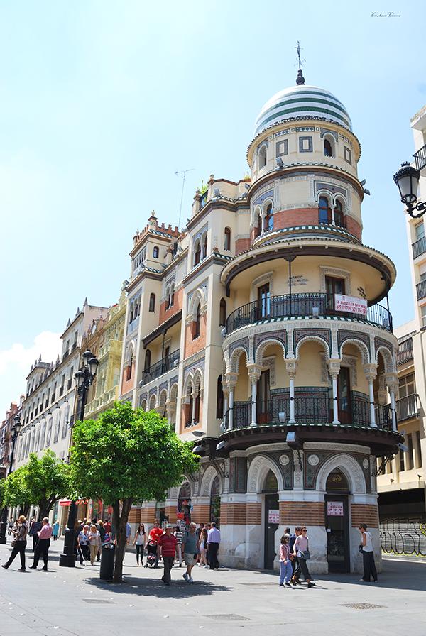 Seville, calle Sierpes