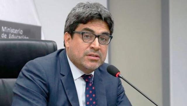 Ley que propone reponer a 14.000 docentes será observada, afirma Ministro de Educación