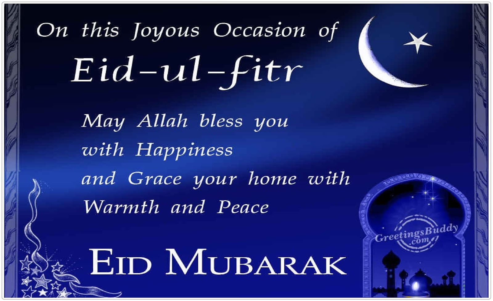 Eid Mubarak Wishes2018 Quotes Messages Sms Greetings Status 2018