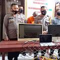 Dua Terduga Pelaku Pencurian di Kompleks PPI Cempae Parepare di Ringkus Polisi