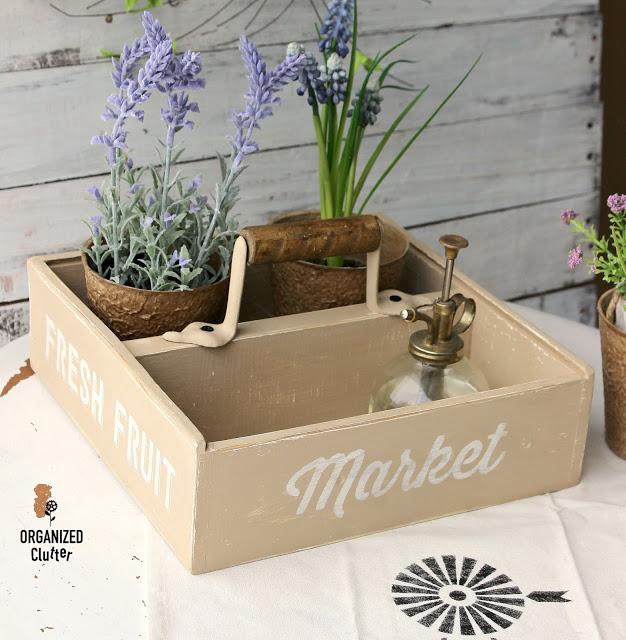 Drawer Flower Caddy