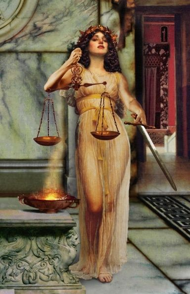Themis, one of the oracles at  ancient Delphi Illustration: H D Johnson
