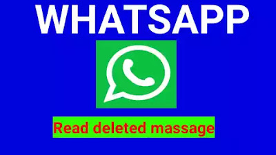 WhatsApp deleted read
