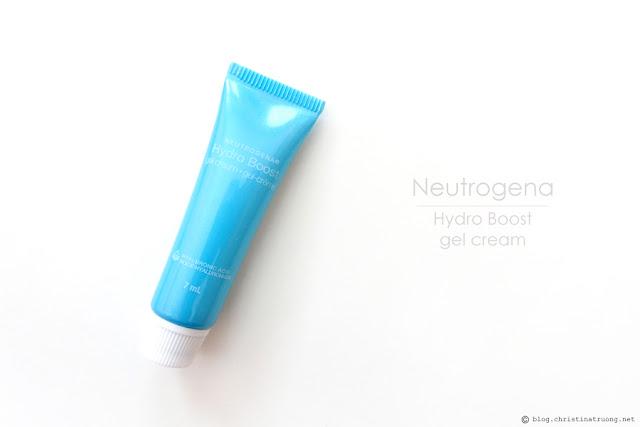 Neutrogena Hydro Boost Gel Cream Review
