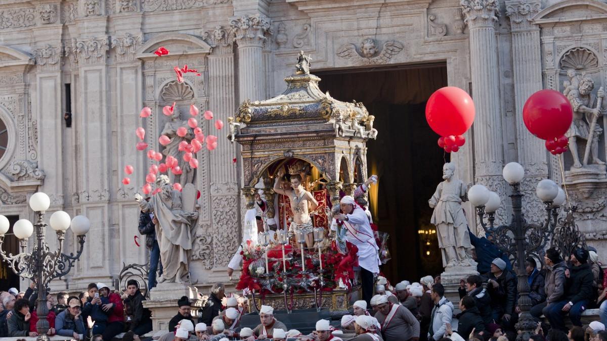 Limitazioni anti Covid ad Acireale per la festa di San Sebastiano