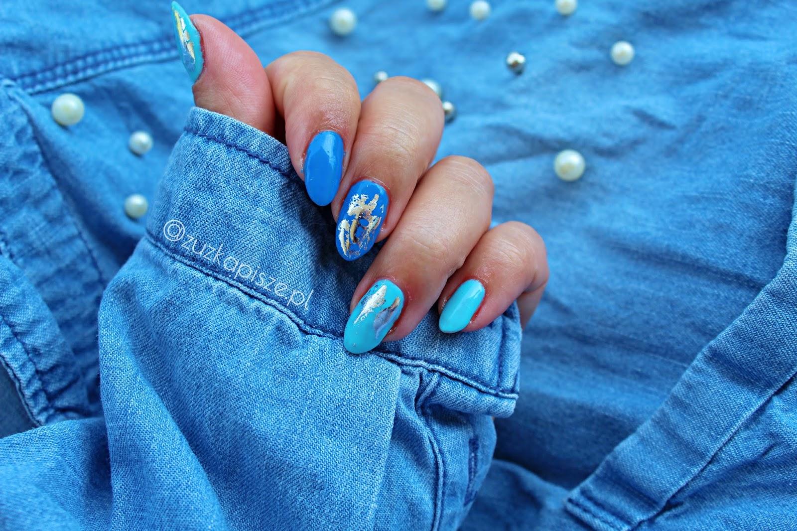Niebieskie szaleństwo z lakierami hybrydowymi z serii VIVA ESPANA marki NC Nails Company