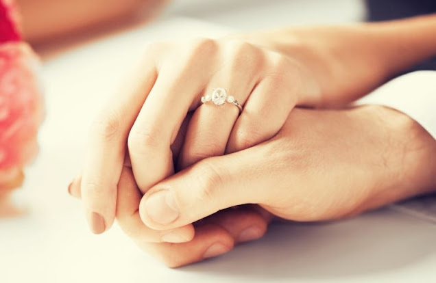Cincin Pertunangan dan Pernikahan