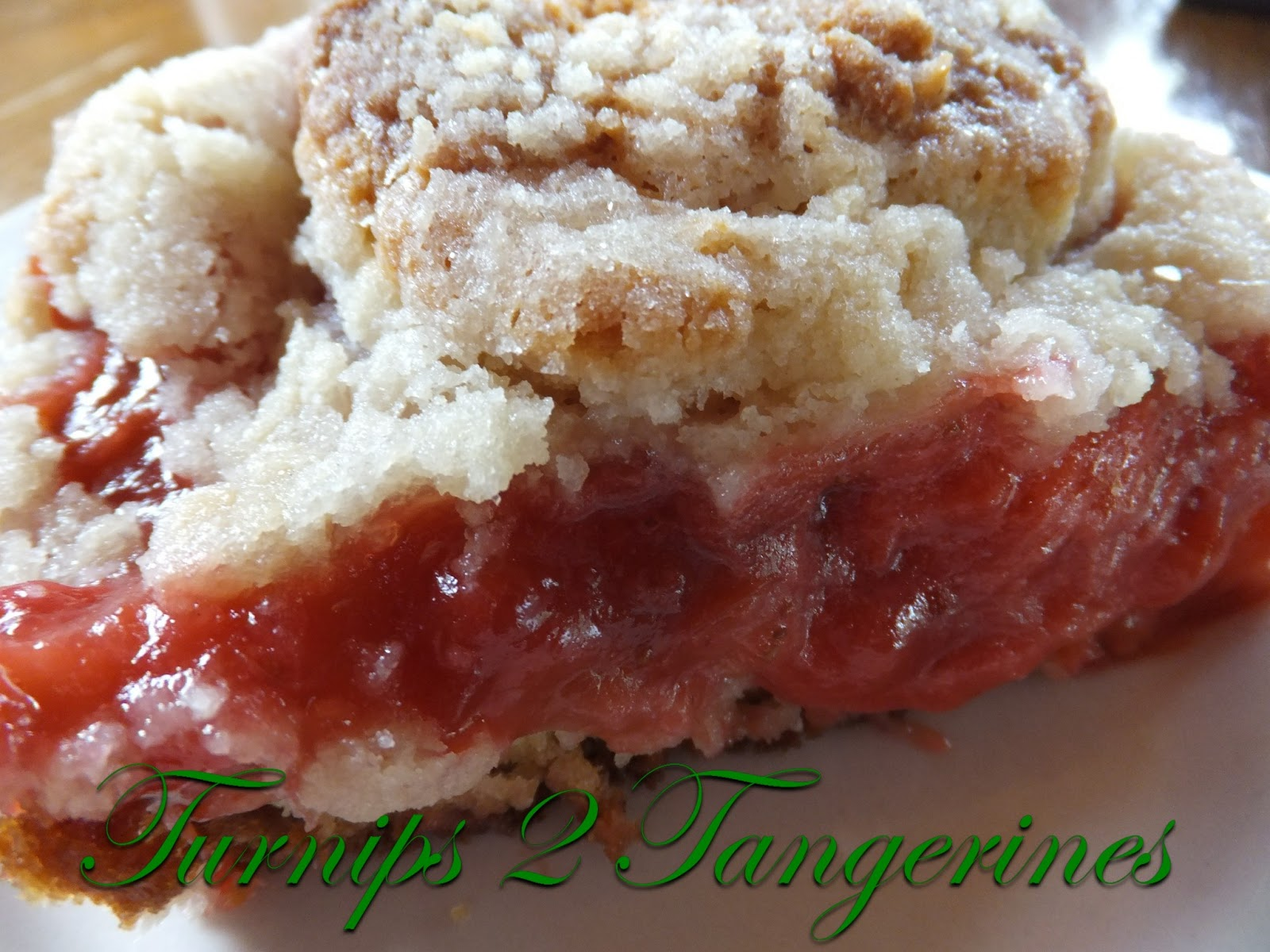 Strawberry Rhubarb Cake Filling