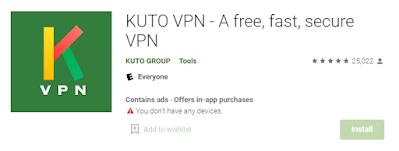 Kuto VPN for PC