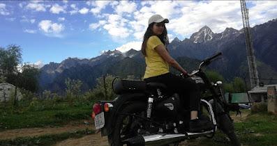 Ride in Auli