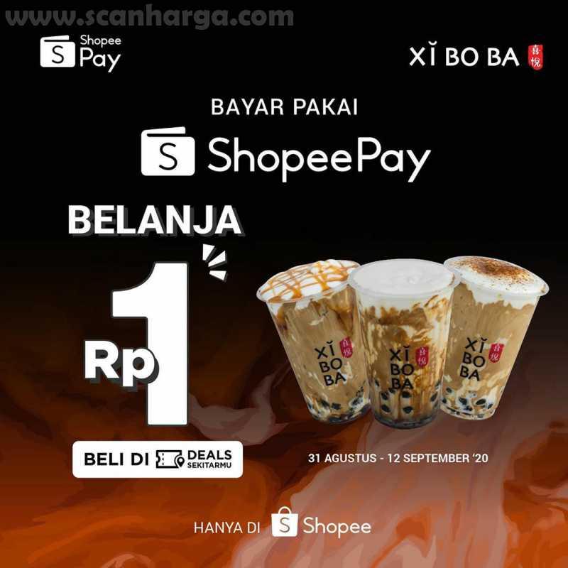 Promo XIBOBA Belanja Cukup Rp1 Dengan Menggunakan Shopeepay